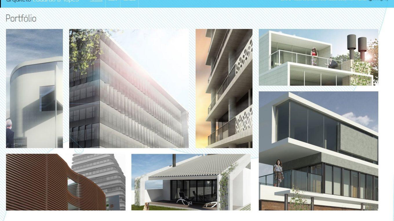 site como arquiteto