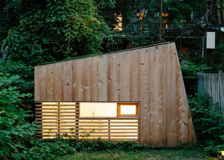 Studio no jardim