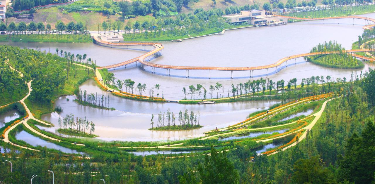 Projeto na China da exemplo de proteção a natureza