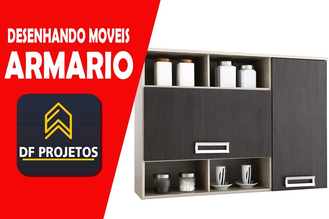 MOVEIS PLANEJADOS ARMARIO DE COZINHA