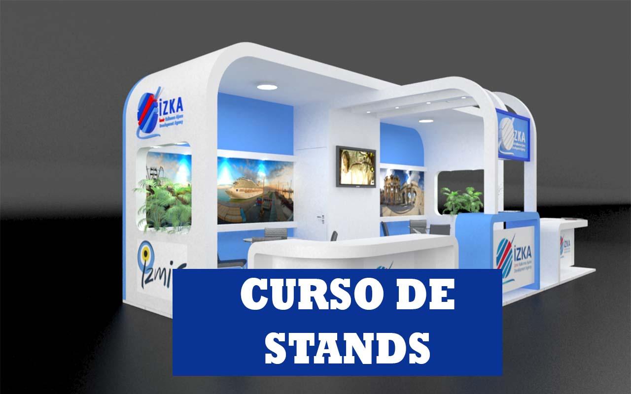 Como projetar um stand? Curso de projeto de stands!