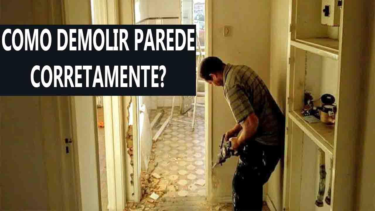 demolir parede, demolir parede de apartamento,