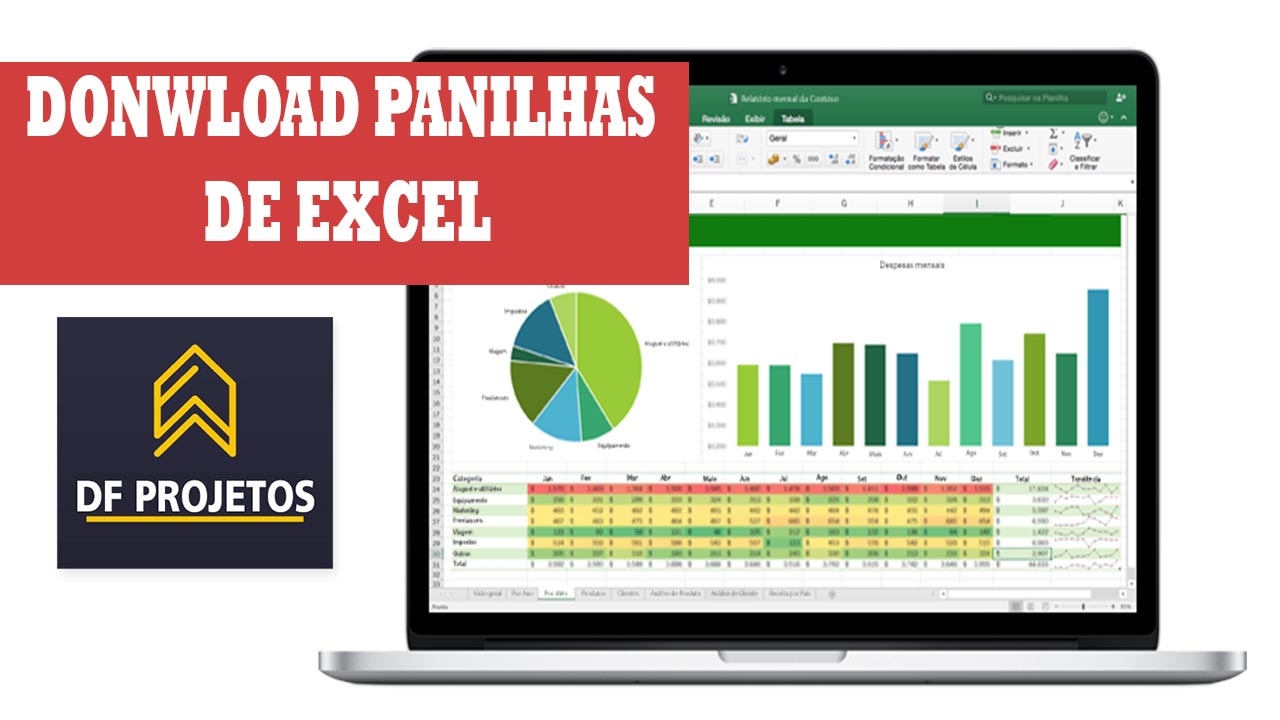 Download de planilhas de Excel