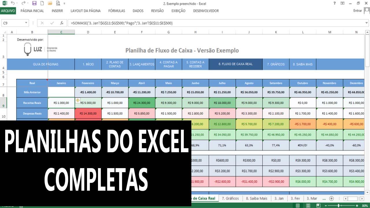 5 dicas para usar bem o Excel