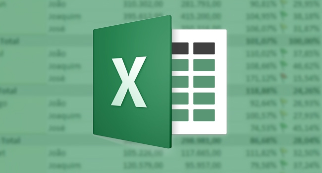 Download de planilhas do Excel