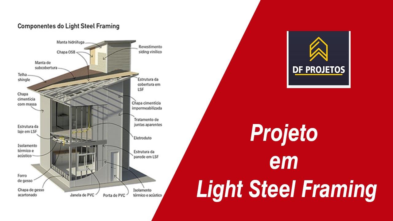 Curso de projeto em Light Steel Framing
