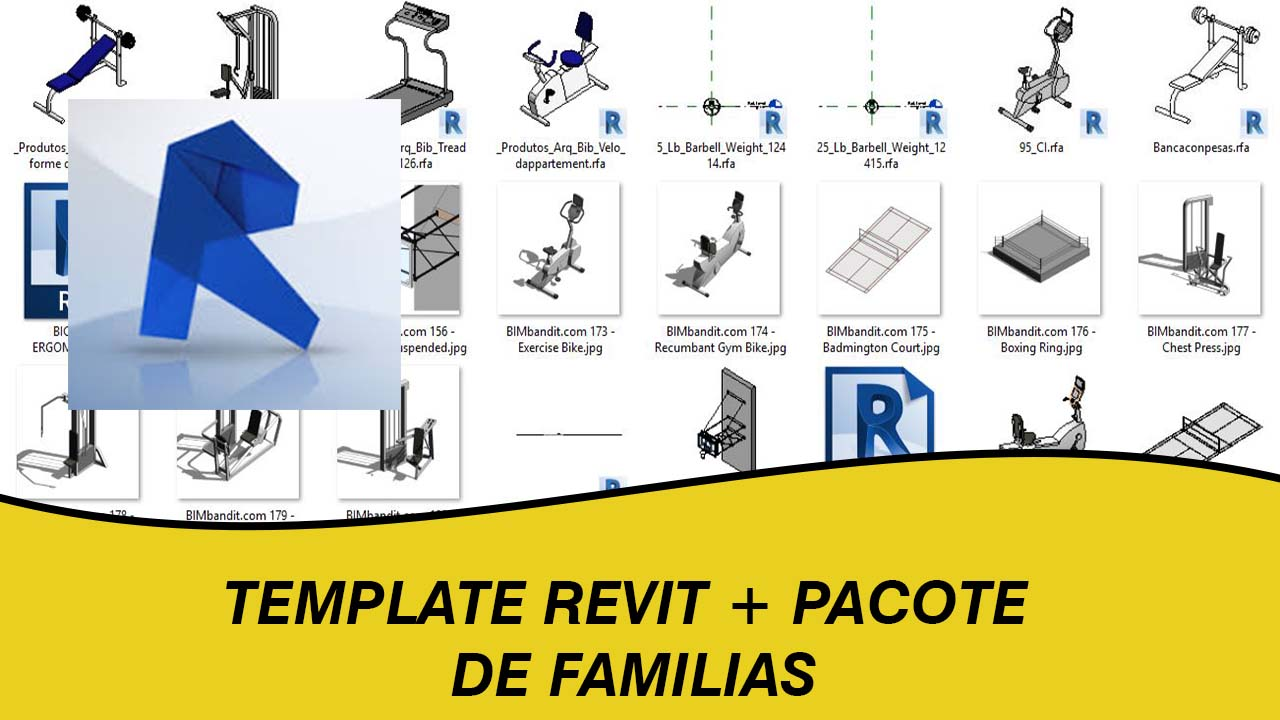 Download Template revit para arquitetura