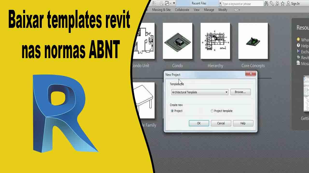 Baixar templates revit nas normas ABNT template para revit ainda mais completo e tudo sobre como usar as ferramentas de configurações