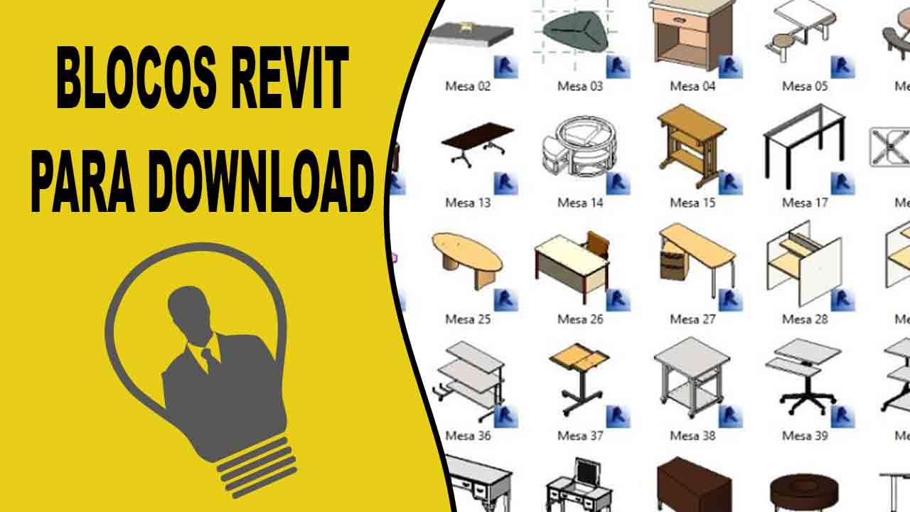 Blocos para revit baixar agora faça o download dos blocos revit para seus projetos compleos