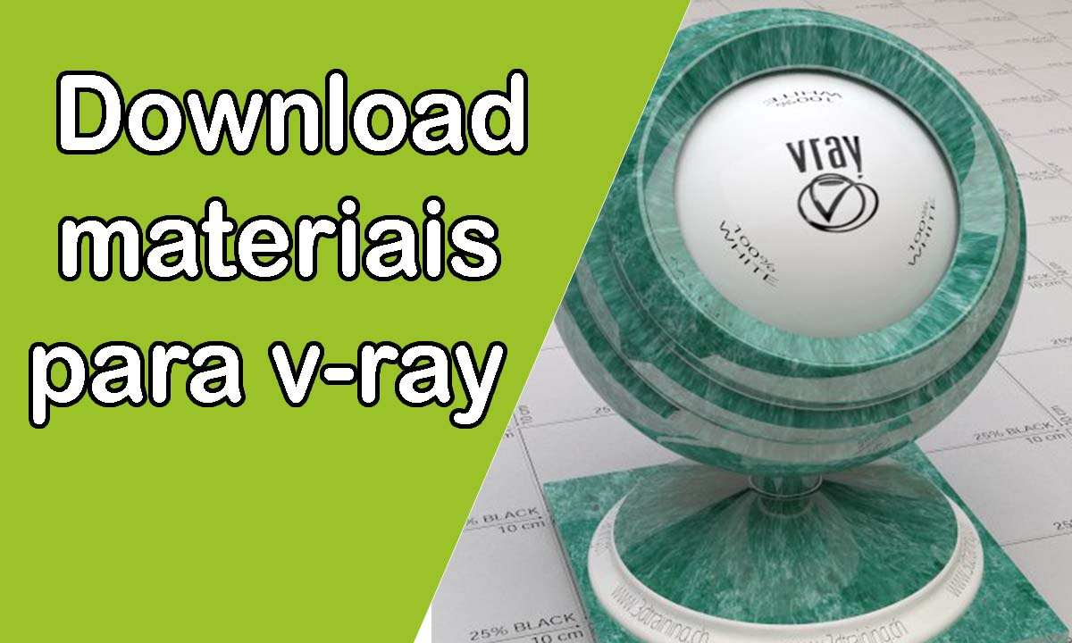 Download materiais para v-ray