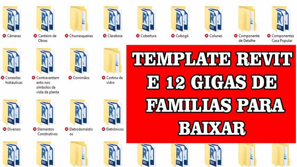 FAMILIAS REVIT E TEMPLATE