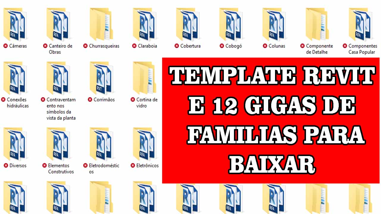 FAMILIAS REVIT E TEMPLATE