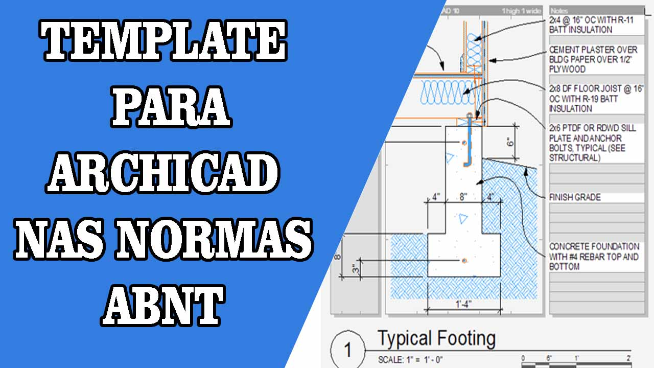 DOWNLOAD TEMPLATE ARCHICAD NAS NORMAS