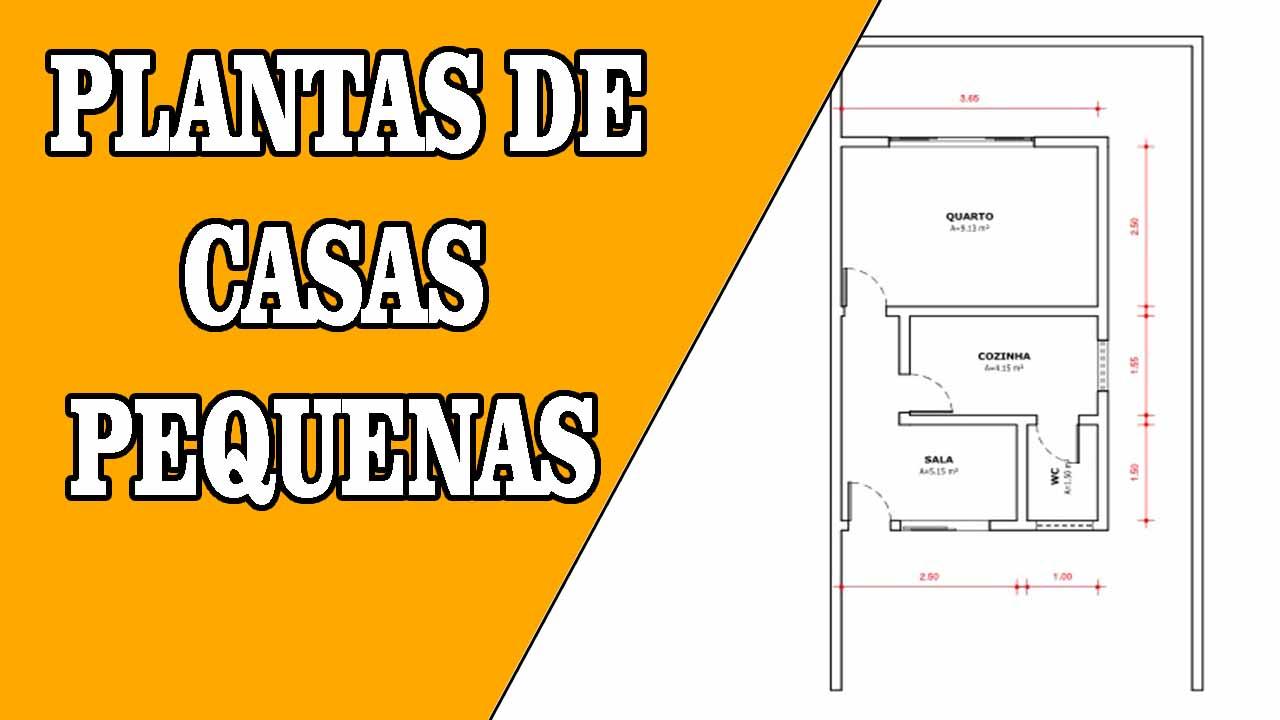 PLANTAS DE CASAS PEQUENAS