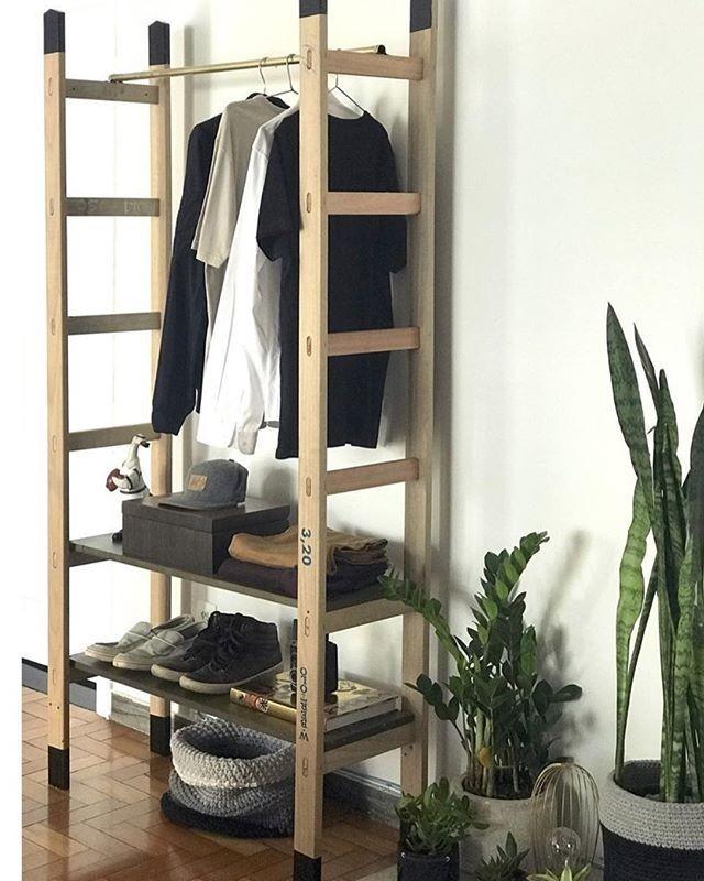 armario e escada