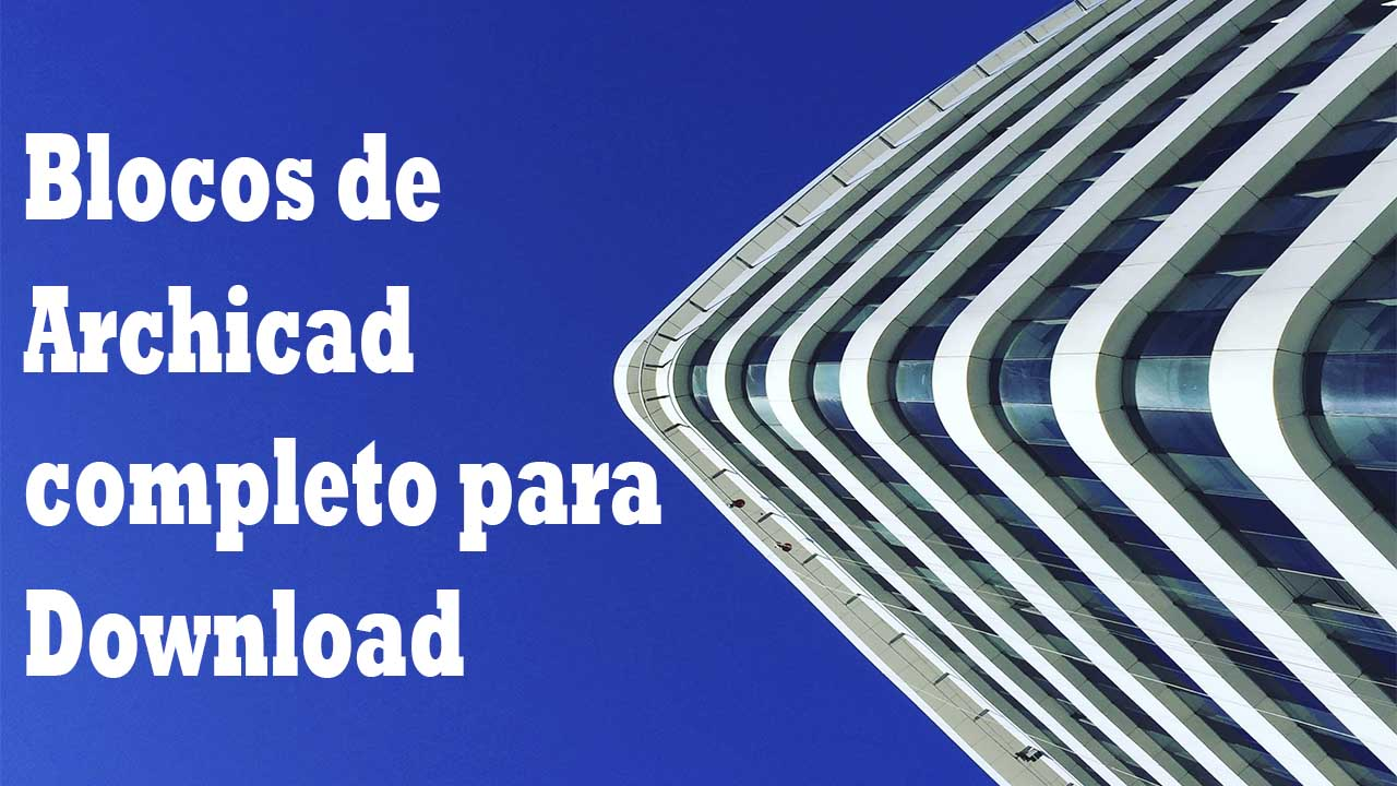 Blocos de Archicad para download