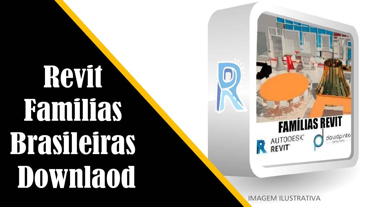 Revit familias brasileiras downlaod