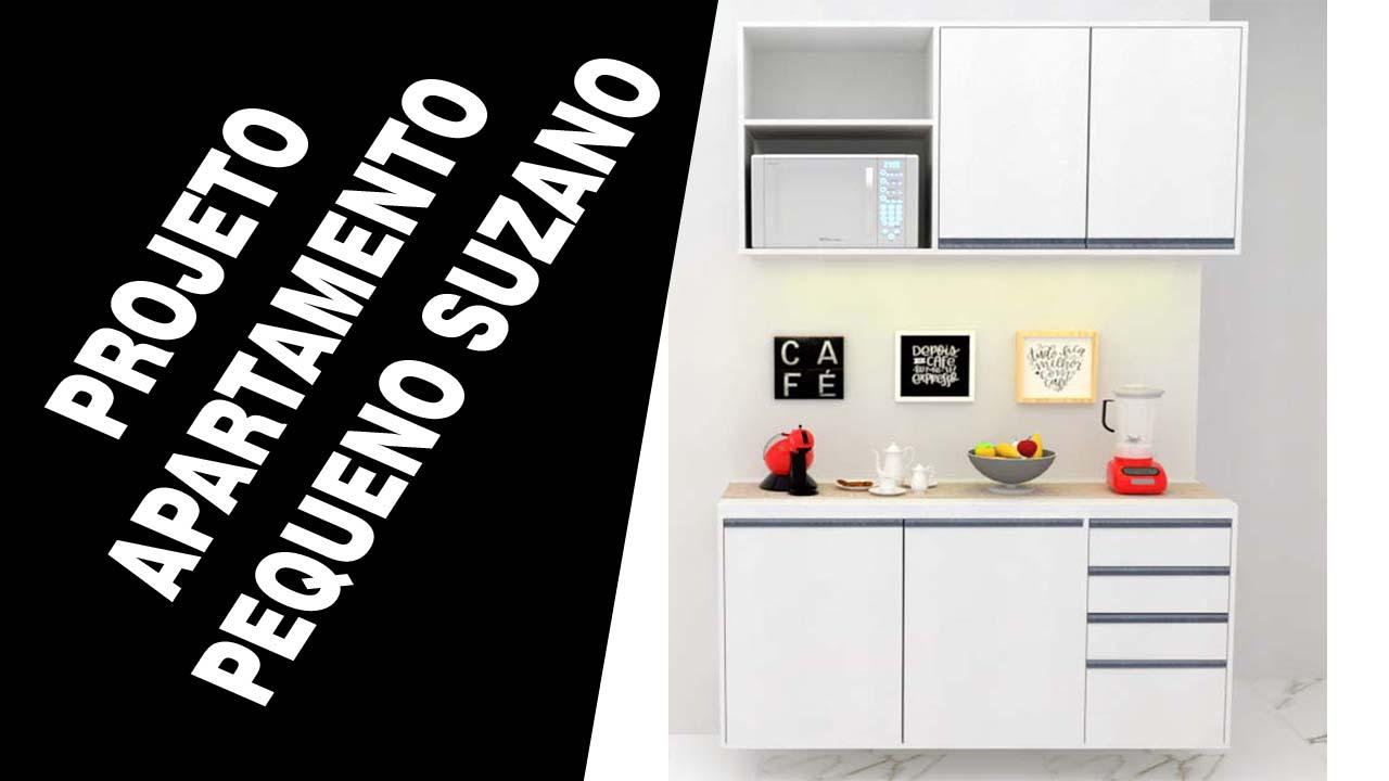 Moveis planejados Suzano apartamento pequeno