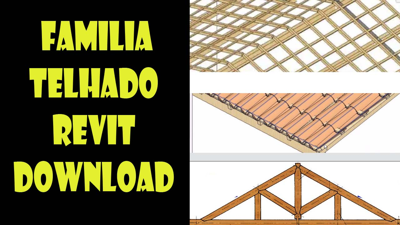 Familia telhado revit download