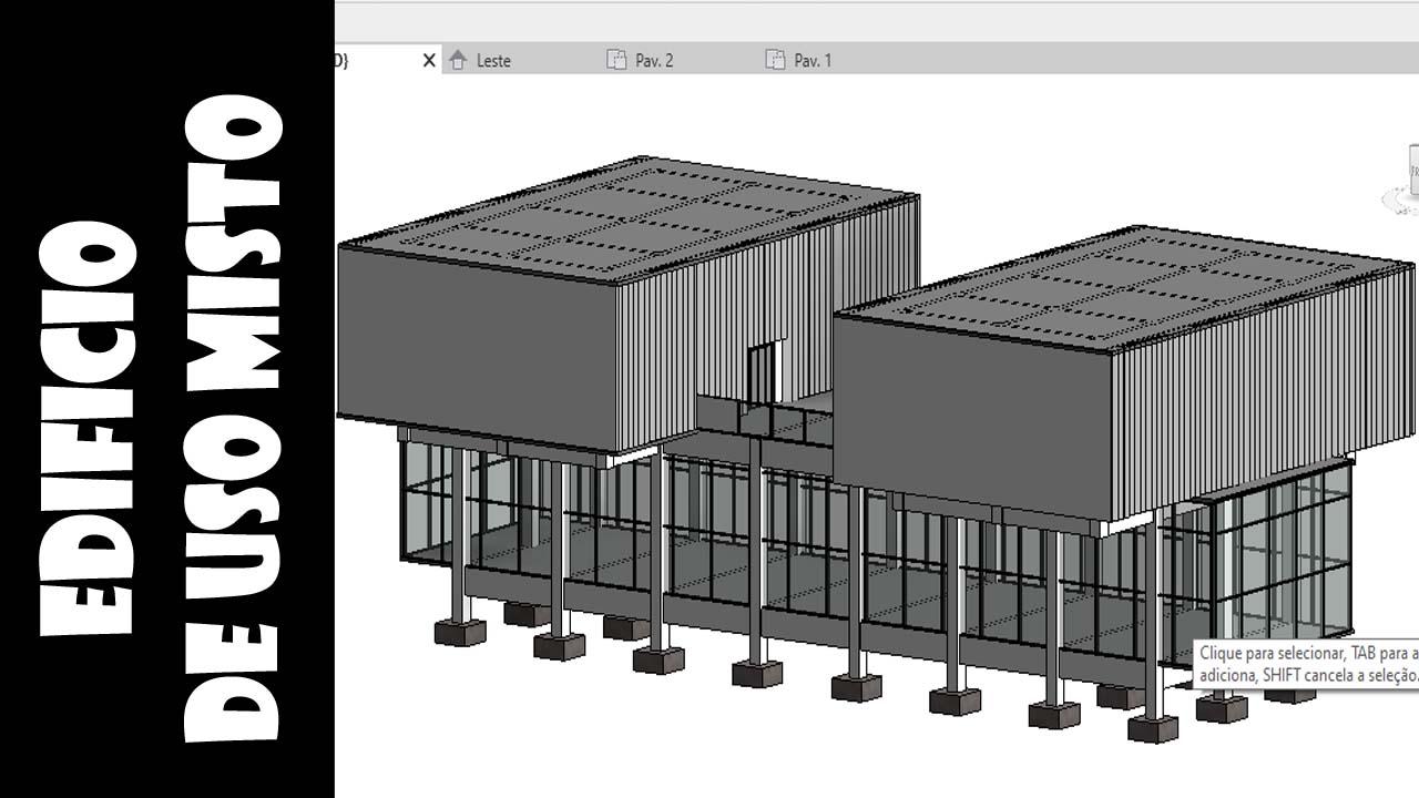Projeto de estrutura no Revit 2020