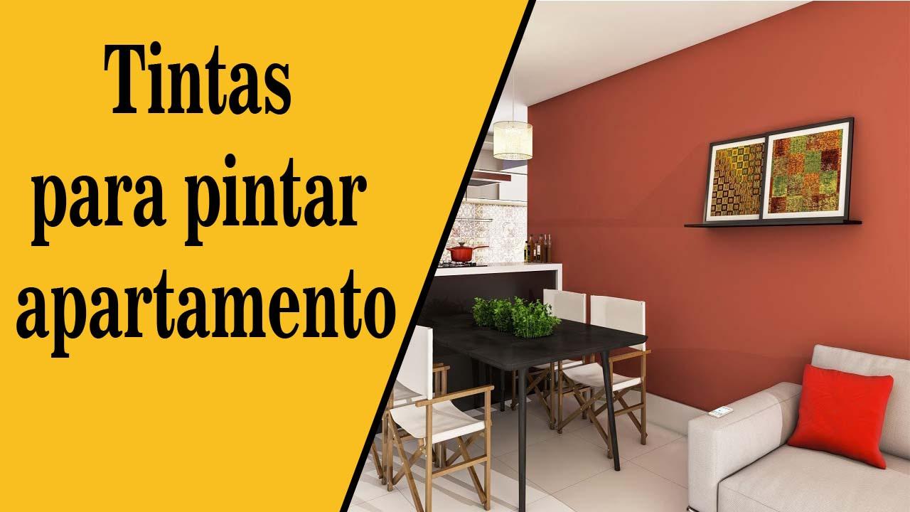 Tintas para pintar apartamento