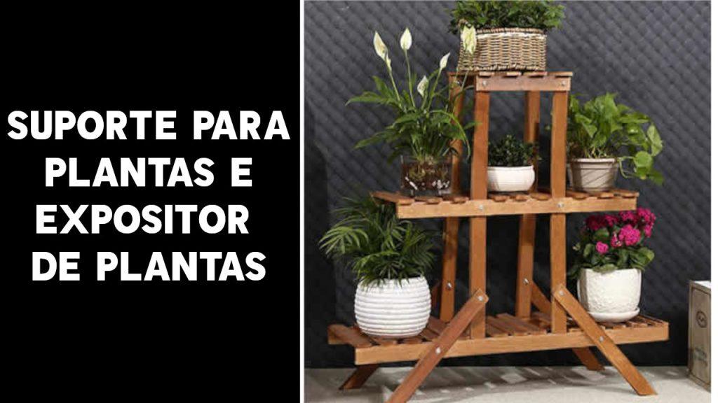 Estante para plantas, prateleira para plantas