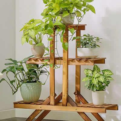 Suporte de plantas para seu jardim