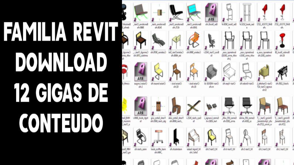 Familia revit download pacote 12 gigasFamilia revit download pacote 12 gigas